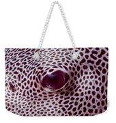 Fish Eye Weekender Tote Bag