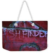 Fish Finder Weekender Tote Bag
