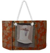 Fish-like Things Turn Into Frogs Into Birds Framed Weekender Tote Bag