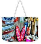 Fish Market Weekender Tote Bag