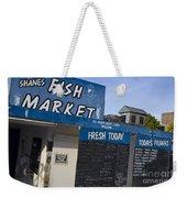 Fish Market In Hobart Weekender Tote Bag