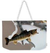 Fish Mount Set 02 C Weekender Tote Bag
