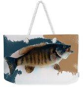 Fish Mount Set 10 Cc Weekender Tote Bag