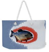 Fish Mount Set 12 B Weekender Tote Bag