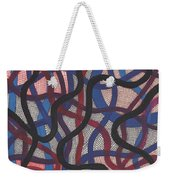 Fish Net Design Weekender Tote Bag