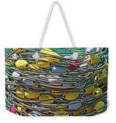 Fish Net Hdr Weekender Tote Bag