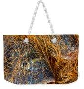Fish On The Net Weekender Tote Bag by Stelios Kleanthous