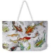 Fish Pond V2					 Weekender Tote Bag