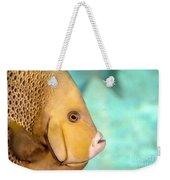 Fish Profile Weekender Tote Bag
