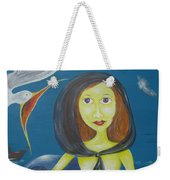 Fish Sands Weekender Tote Bag