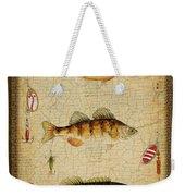 Fish Trio-c-green Weekender Tote Bag