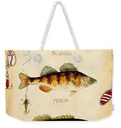 Fish Trio-c Weekender Tote Bag