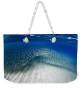 Fish Wave. Weekender Tote Bag by Sean Davey