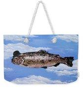 Fish With Bowler Weekender Tote Bag