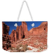 Fisher Towers Amphitheater Weekender Tote Bag