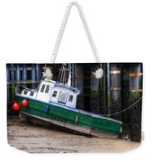 Fisherman Boat Weekender Tote Bag