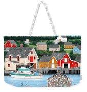 Fisherman's Cove Weekender Tote Bag
