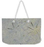 Fishermans Foot Prints Weekender Tote Bag