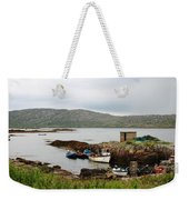 Fishermans Landing Weekender Tote Bag