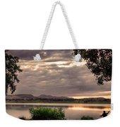 Fisherman's Sky Weekender Tote Bag