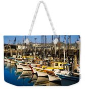 Fishermans Wharf San Francisco Weekender Tote Bag