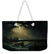Fishermen At Sea Weekender Tote Bag