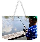Fishin' Weekender Tote Bag