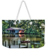 Fishing At Big Daddy's Weekender Tote Bag