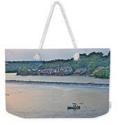 Fishing At Boathouse Row Weekender Tote Bag