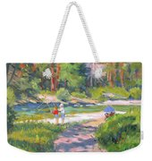Fishing At Kennedy Meadows Weekender Tote Bag