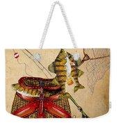 Fishing Basket  Weekender Tote Bag