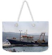 Fishing Boat Apostolos - Samos Weekender Tote Bag