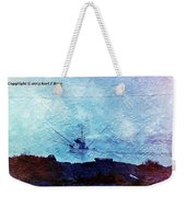 Fishing Boat As A Painting Weekender Tote Bag