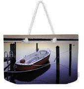 Fishing Boat At Dawn Weekender Tote Bag