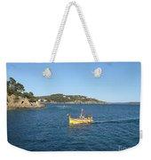 Fishing Boat - Cote D'azur Weekender Tote Bag