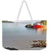 Fishing Boat Intwillingate Harbour-nl Weekender Tote Bag