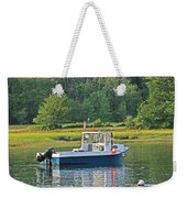 Fishing Boat Cape Neddick Maine Weekender Tote Bag