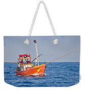 Fishing Boat  Sri Lanka Weekender Tote Bag