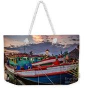 Fishing Boat V2 Weekender Tote Bag
