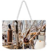 Fishing Boats Equipment Chaos Weekender Tote Bag