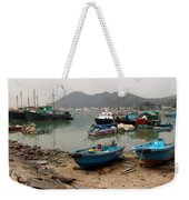 Fishing Boats - Hong Kong Weekender Tote Bag