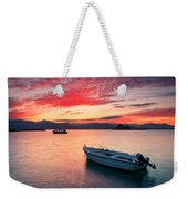 fishing boats 'II Weekender Tote Bag