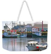 Fishing Boats In Branch-nl Weekender Tote Bag