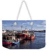 Fishing Boats In Killybegs Donegal Ireland Weekender Tote Bag