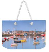 Fishing Boats In The Howth Marina Weekender Tote Bag