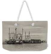 Fishing Boats - Wildwood New Jersey Weekender Tote Bag