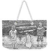 Fishing Buddies Weekender Tote Bag