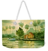 Fishing Cabin - Aucilla River Weekender Tote Bag