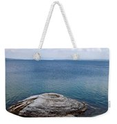 Fishing Cone Geyser In West Thumb Geyser Basin Weekender Tote Bag