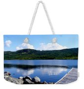 Fishing Day - Calm Waters - Digital Painting Weekender Tote Bag